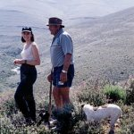 Hikers in the Roggeveld mountains
